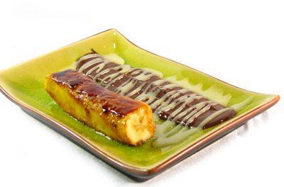 La receta del día: Tronquito de plátano caramelizado