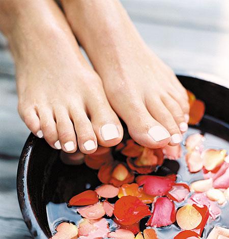 Trucos para combatir las durezas de los pies