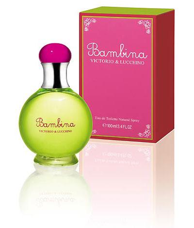 Victorio & Lucchino crean Bambina: Un perfume infantil