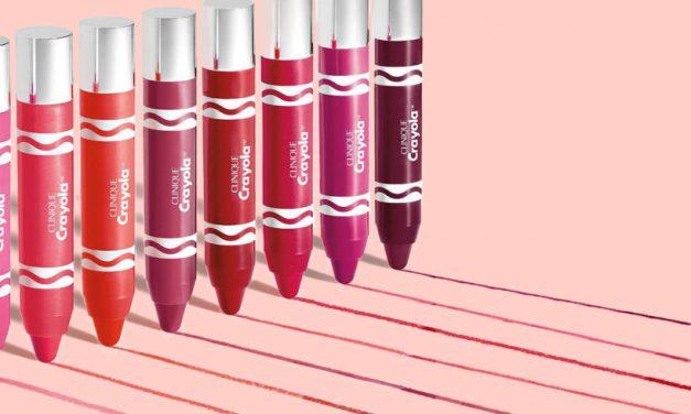 La cera de Crayola se convierte en el nuevo Chubby Stick de Clinique para los labios