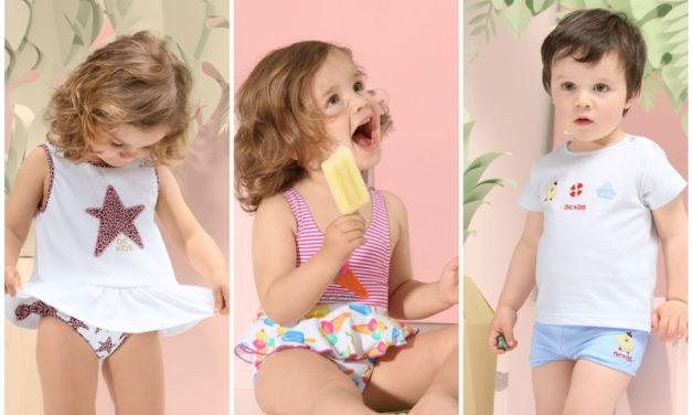 Colección baño para niños y niñas de Dolores Cortés
