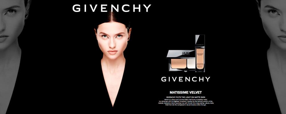 La base de maquillaje que aporta luz a una piel mate Matissime Velvet de Givenchy