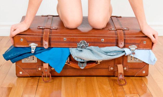 Cómo hacer la maleta perfecta