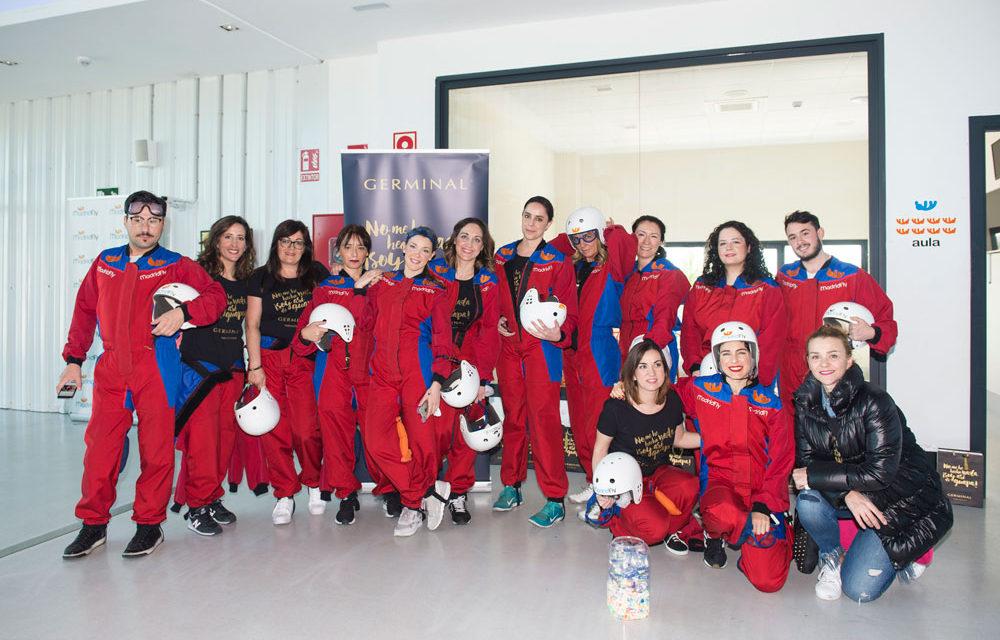 Germinal Acción Inmediata, maquillaje a prueba de huracanes en Madrid Fly