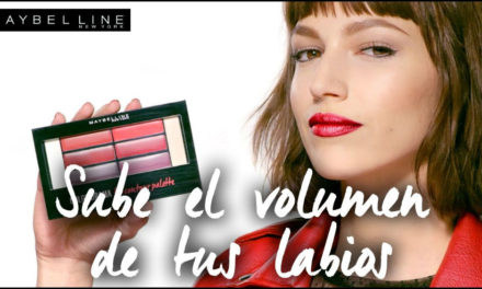Labios con volumen, Lip Contour Palette de Maybelline New York