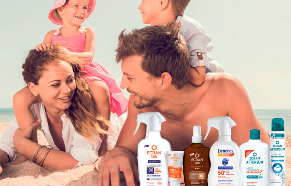 Ecran, la protección solar más completa para toda la familia