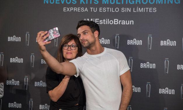 Jesús Castro nos enseña su estilo con los nuevos kits multigrooming de Braun