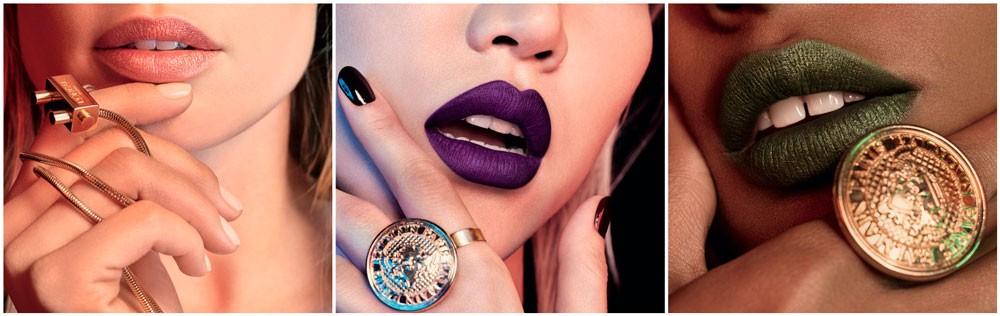 Así son los labiales de lujo de Balmain para L'Oréal Paris