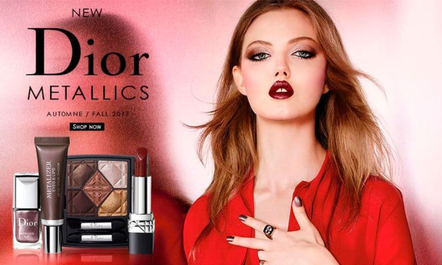 Metallics, es la nueva colección de maquillaje de Dior para este otoño/invierno