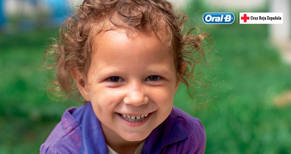 Oral-B y Cruz Roja regalan sonrisas a los niños en riesgo de exclusión