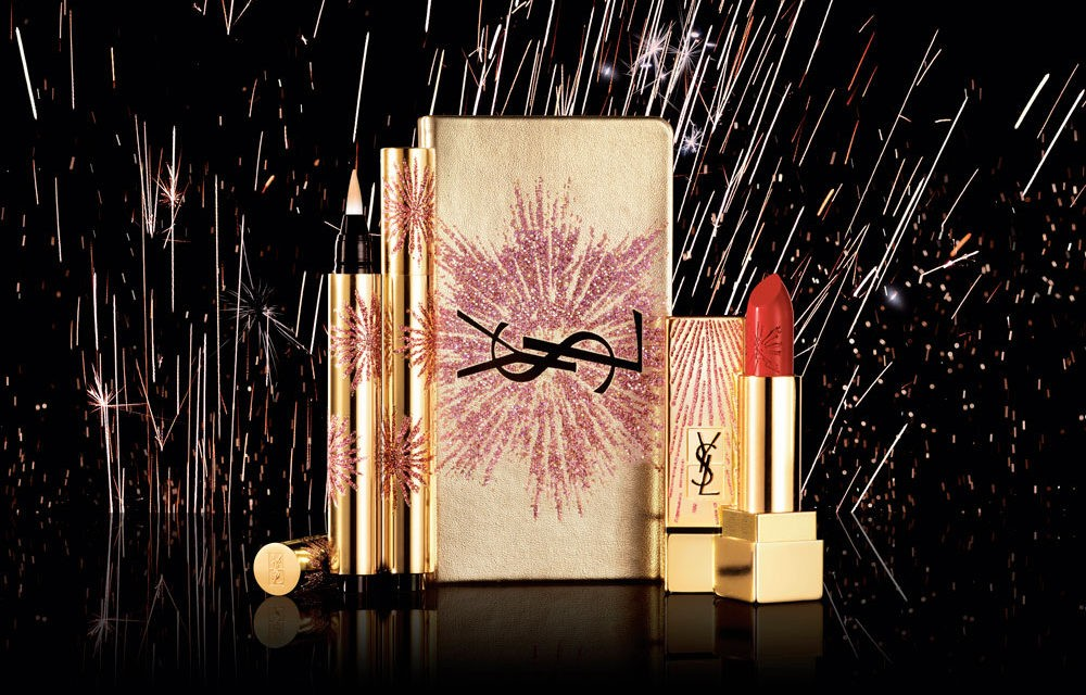 Colección de maquillaje de Yves Saint Laurent – Holiday Look 2017 Dazzling Lights