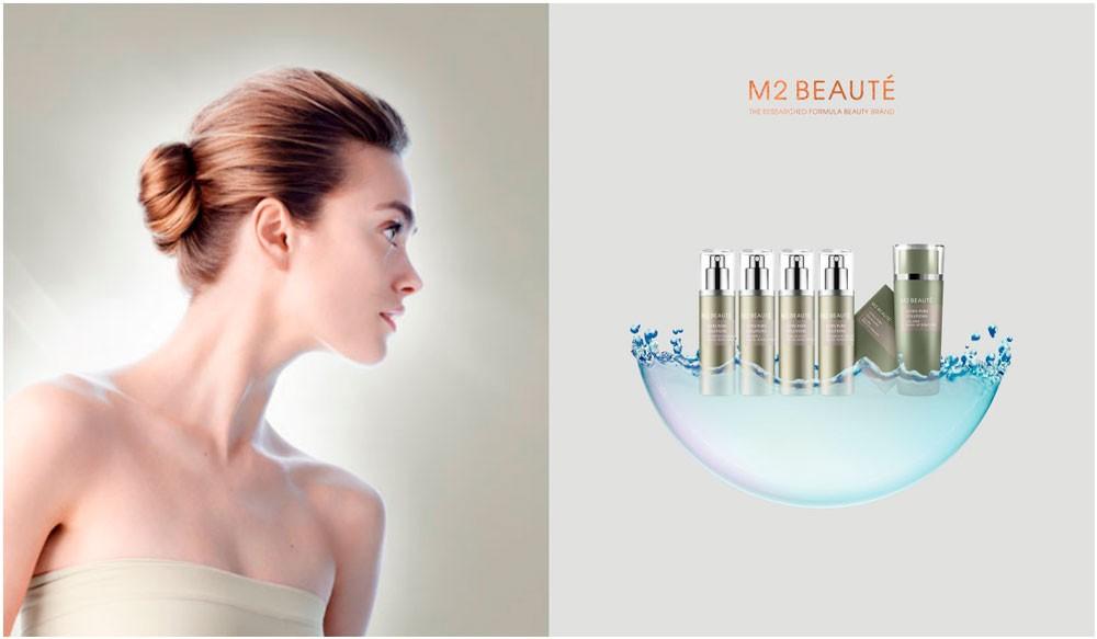 Donde otros no llegan, M2 Beauté actúa en las capas más profundas de la piel con Ultra Pure Solutions Cu-Pepitde & Vitamin B Facial Nano Spray
