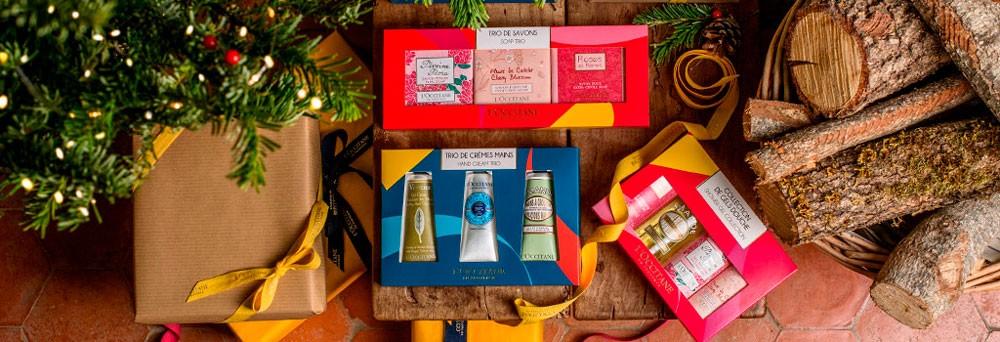 Regalos para la Navidad de L'Occitane
