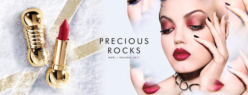 Colección de maquillaje de Dior para estas fiestas, Precious Rocks