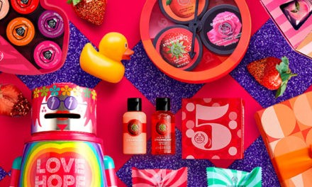 The Body Shop regalos para Navidad solidarios (Play For Peace)