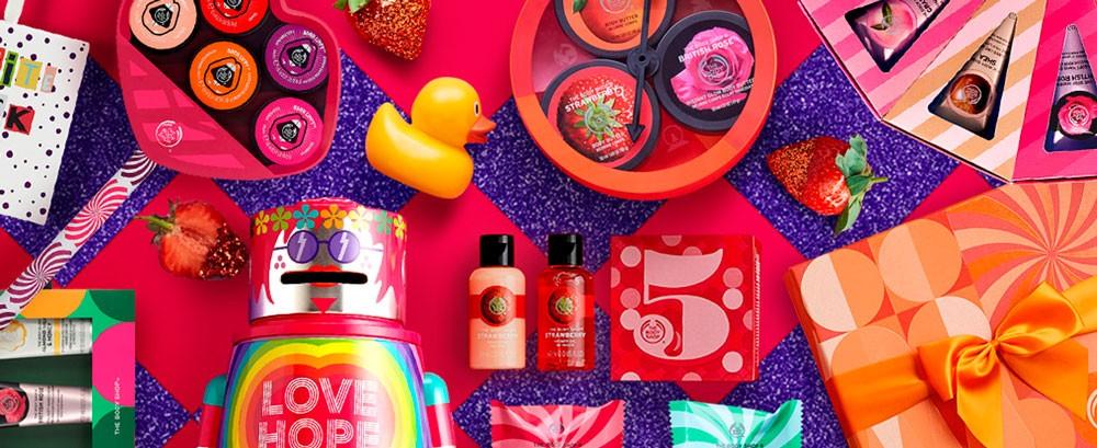 The Body Shop regalos para Navidad solidarios (Play For Peace)
