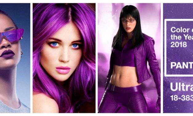 Ultra Violet, el color elegido para el 2018 por Pantone, ¿querrás llevarlo?