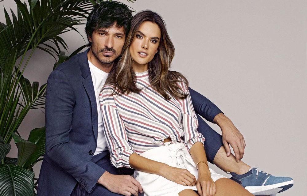 Alessandra Ambrosio y Andrés Velencoso, pura química en la nueva campaña de Xti