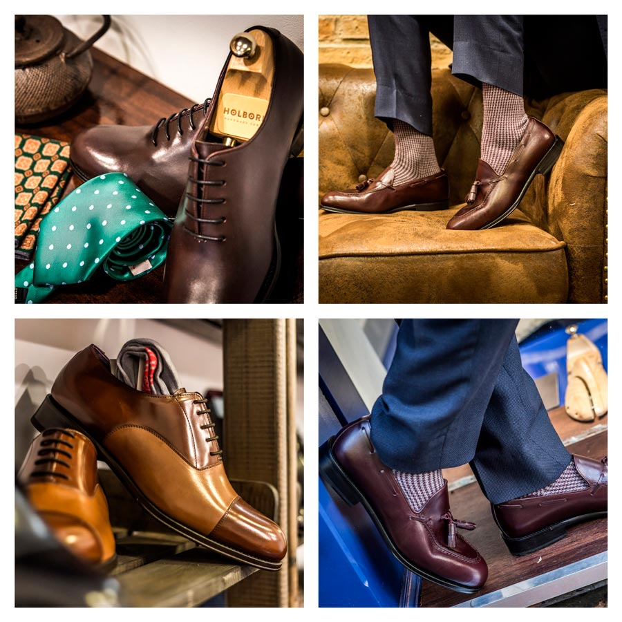 HolbornUna Firma De Sello Con Nueva Abre Zapatos A Español Medida mNw80n