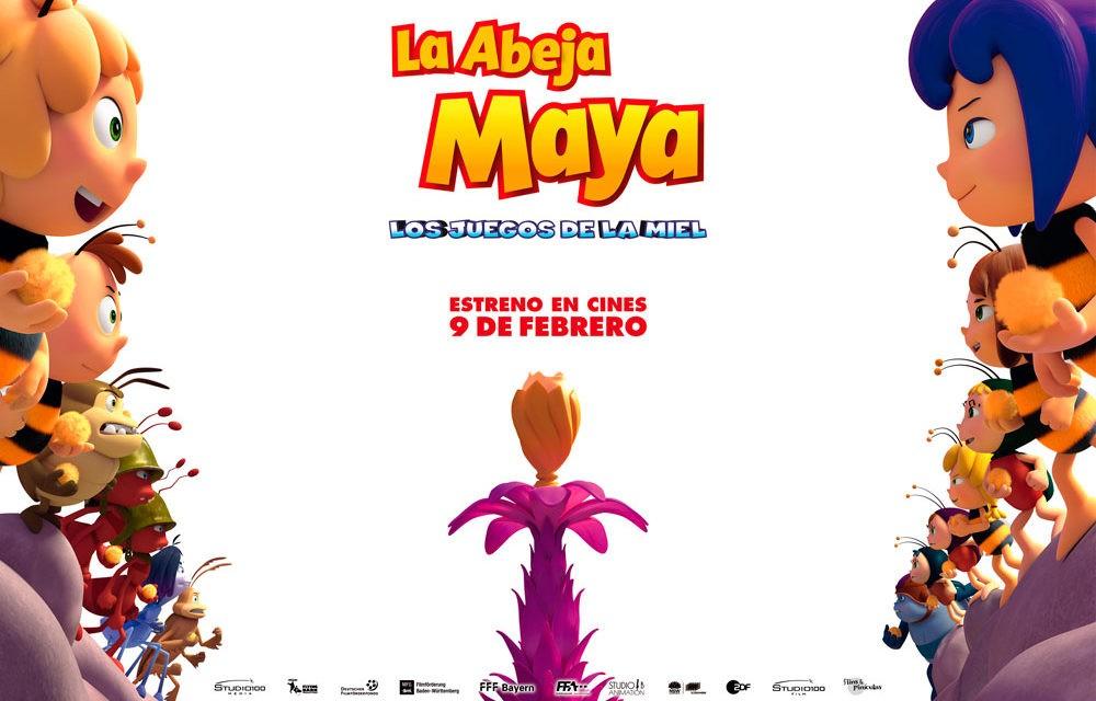 La Abeja Maya: Los Juegos De La Miel, el 9 de febrero en Cines
