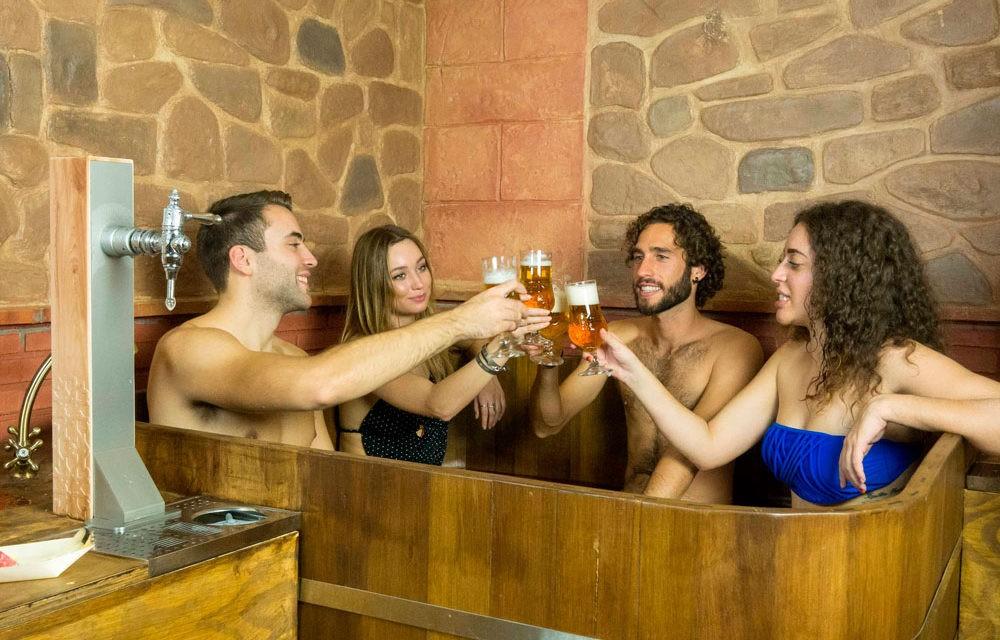Abre el primer spa de cerveza en España