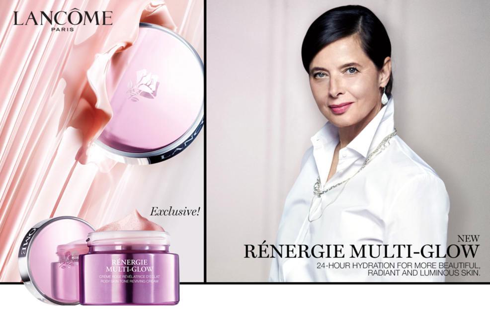 Rénergie Multi-Glow, de Lancôme un tratamiento único, hecho a medida para las mujeres de 60 años en adelante