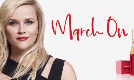 March On por las mujeres, la nueva campaña de Elizabeth Arden & Reese Witherspoon