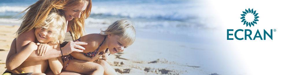 Ecran – Protección solar y reparación de la piel para toda la familia