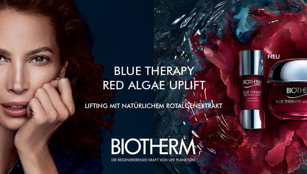 El mayor poder reafirmante para la piel, Red Algae Uplift de Biotherm