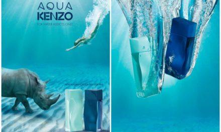 Aqua Kenzo, dos nuevas fragancias adictivas para ella y para él