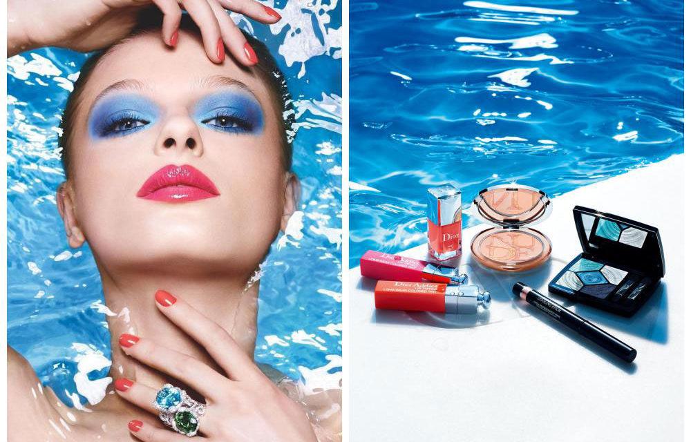 Dior Cool Wave, así es el look de maquillaje de este verano