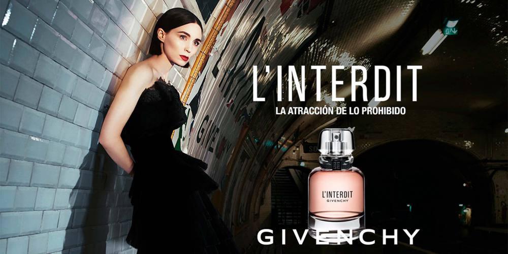 L'Interdit, Givenchy presenta su nueva fragancia, la atracción de lo prohibido