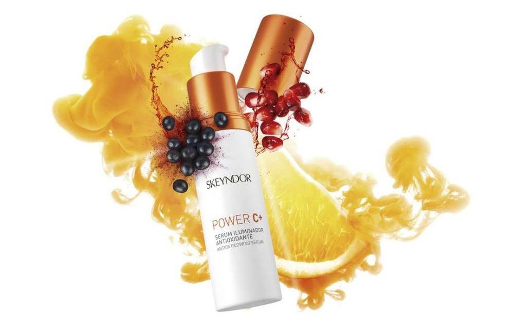 El poder antioxidante de la vitamina C, Skeyndor reinventa su gama Power C: triple acción antiox 35%, máxima luminosidad