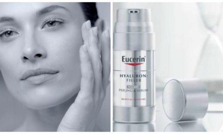 Rellena las arrugas y alisa la piel, Hyaluron-Filler Noche Peeling & Serum de Eucerin