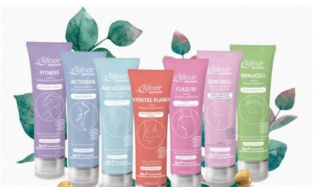 e'lifexir® Natural Beauty, firmeza, antiestrias, celulitis… la solución más natural para las necesidades de tu cuerpo