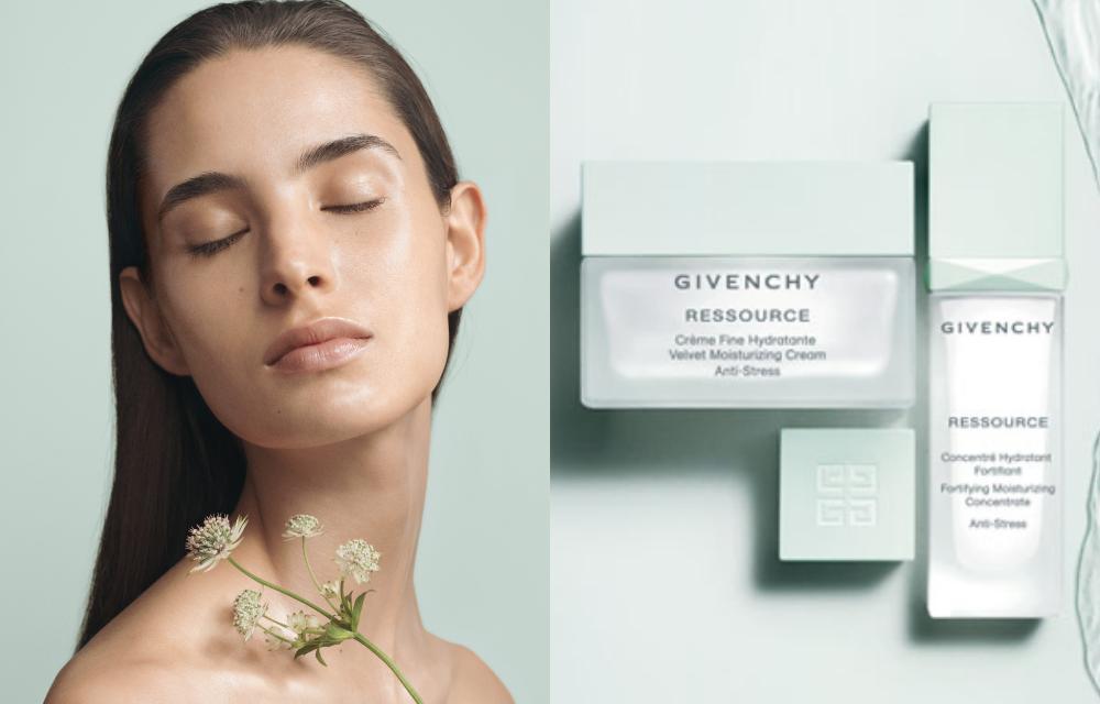 El estrés daña nuestra piel, La línea RESSOURCE de Givenchy es la solución