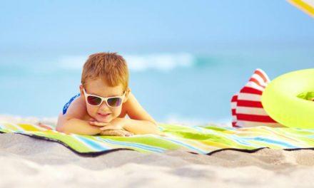 Protección solar para niños, como ¿protegerlos?