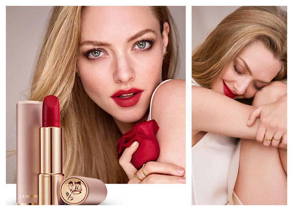 Barra de labios de color rojo