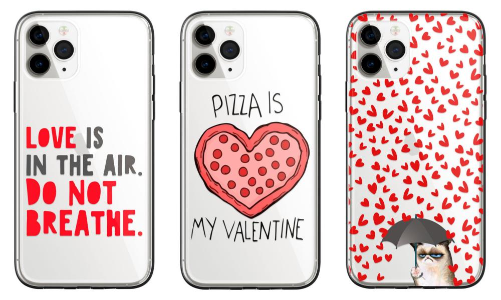 Carcasas para San Valentín