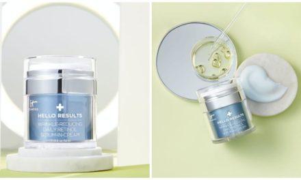 El sérum en crema con retinol reductor de manchas y arrugas de It Cosmetics Hello Results ya es popular en las redes