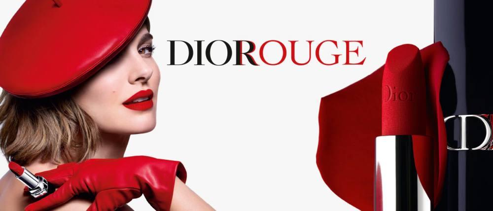 Rouge Dior el labial que ahora es recargable y tiene nuevas texturas