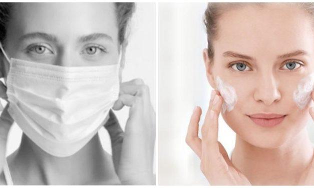 Mascarillas, problemas que causan en la piel y como combatirlos