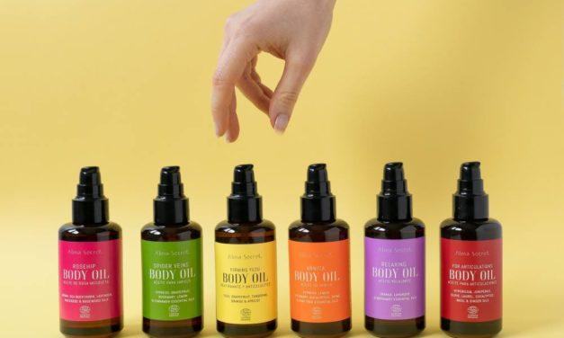 Un aceite corporal de Alma Secret para cada necesidad, celulitis, reafirmar, calmar, relajar…