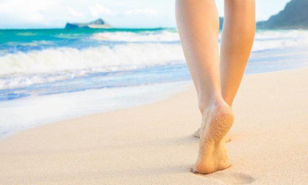 Como cuidar los pies con el decálogo de Eucerin